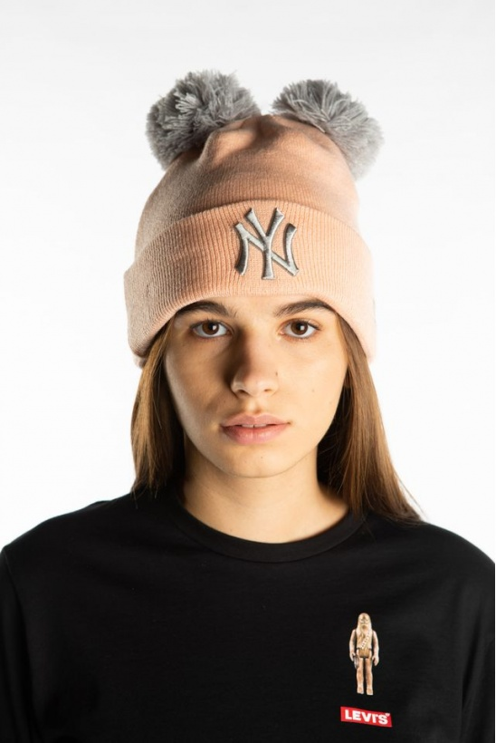 Čiapka NEW ERA DOUBLE BOBBLE 645 LIGHT PINK